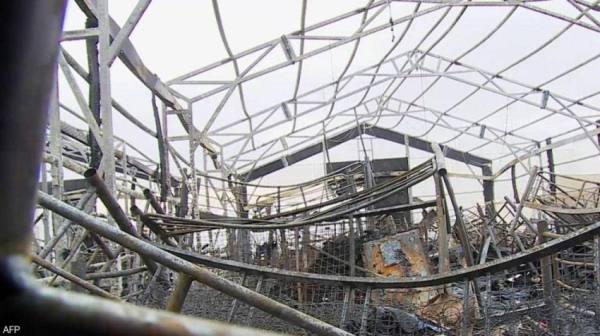 أرشيفية لهجوم استهدف مطار أربيل