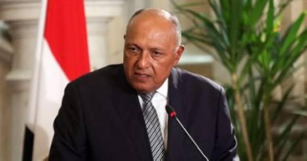 وزير خارجية مصر: أهمية التعاون مع أوروبا لمواجهة الإرهاب ووقف الهجرة غير الشرعية
