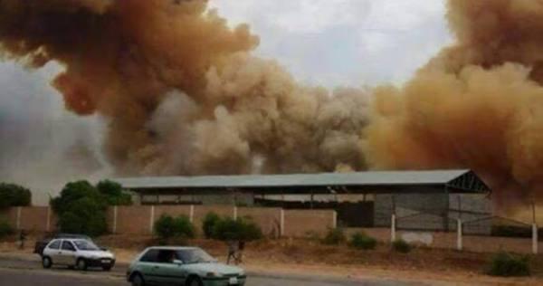 ليبيا.. انفجار مخزن ذخيرة في طرابلس