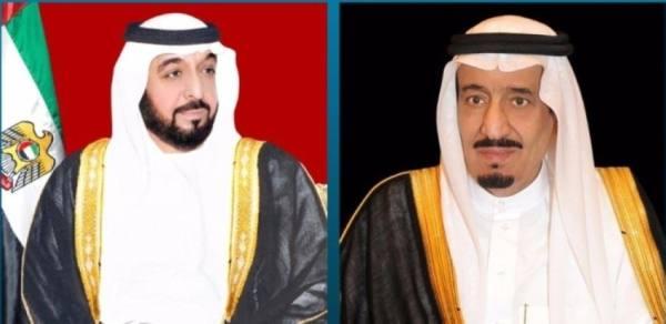 القيادة الإماراتية تهنئ خادم الحرمين بنجاح العملية الجراحية لولي العهد