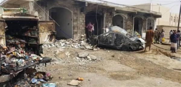 أنباء عن سقوط صاروخ باليستي حوثي على حي سكني في مأرب