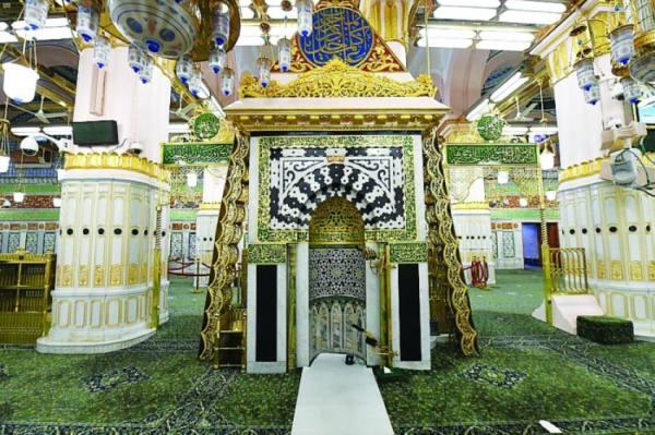 «محراب المسجد النبوي» عناية سعودية متعاقبة بين الملوك