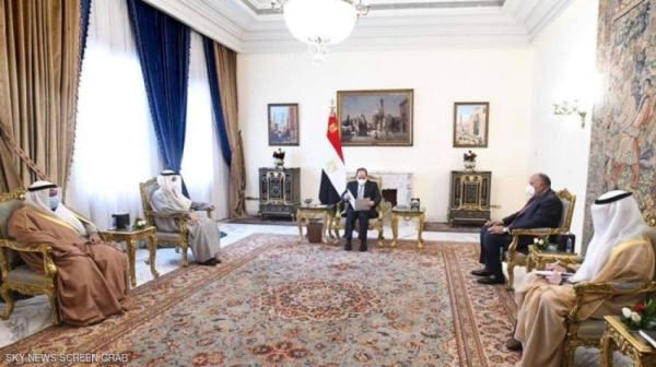 السيسي: ارتباط أمن الخليج بالأمن القومي المصري