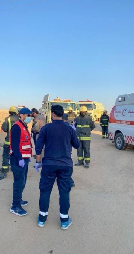 مقتل وإصابة 10 على طريق الطائف - العطيف