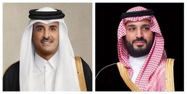 أمير قطر: نحن مع المملكة في أمنها واستقرارها وسيادتها