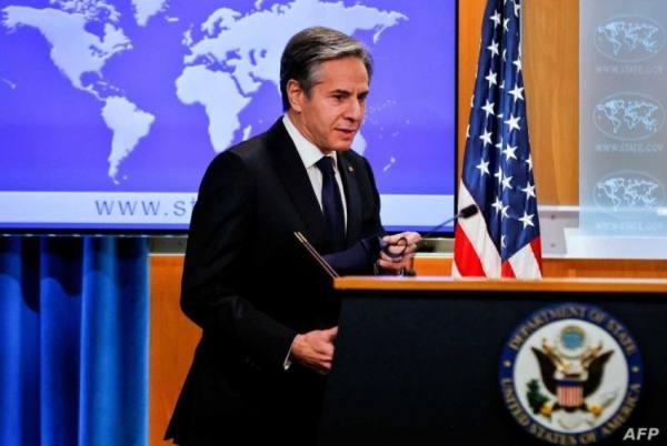 وزير الخارجية الأمريكي يطالب الحوثيين بوقف هجومهم على مأرب
