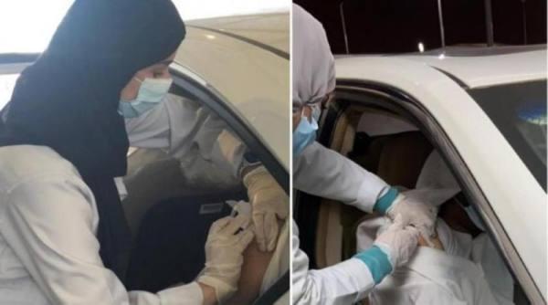 بدء التطعيم ضد «كورونا» داخل السيارة