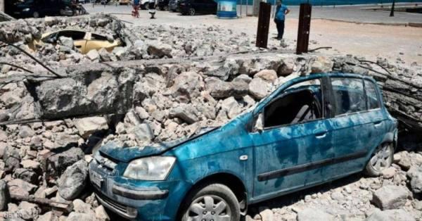 زلزال قوي يضرب وسط اليونان مخلّفاً 11 جريحاً وأضراراً واسعة
