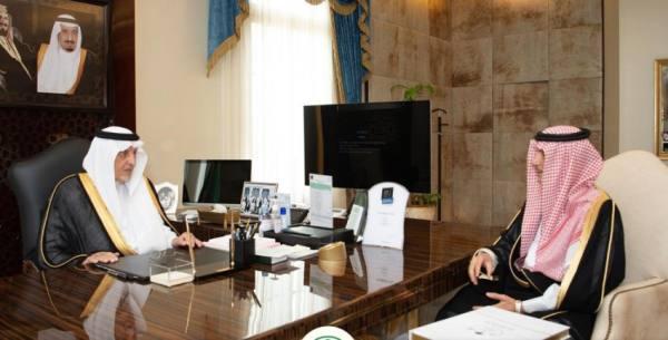 الفيصل يطلع على تفاصيل حصول تخطيط الطائف الجديد على جائزة الإبداع من ألمانيا