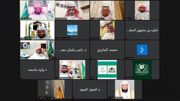 السديس يناقش مع المجلس الاستشاري الاستعداد لموسم رمضان