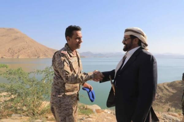المالكي من مأرب: مستمرون في دعم الجيش اليمني