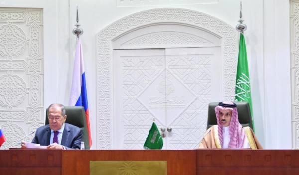 وزير الخارجية: التنسيق والتشاور والتعاون بين المملكة وروسيا قائم بأعلى مستوياته
