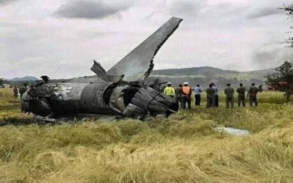 كازاخستان.. مصرع أربعة أشخاص في تحطّم طائرة عسكرية