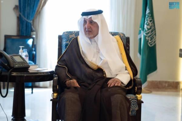 أمير مكة ونائبه يستقبلان مدير فرع الهلال الأحمر