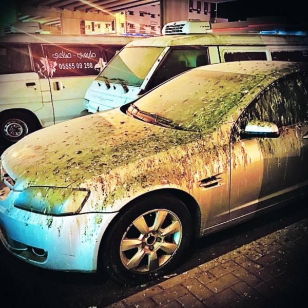 سيارات مهجورة تحتل مواقف «كوبري النور» في مكة