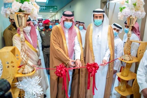 أمير حائل يدشن حزمة من المشاريع والبرامج الصحية في المنطقة