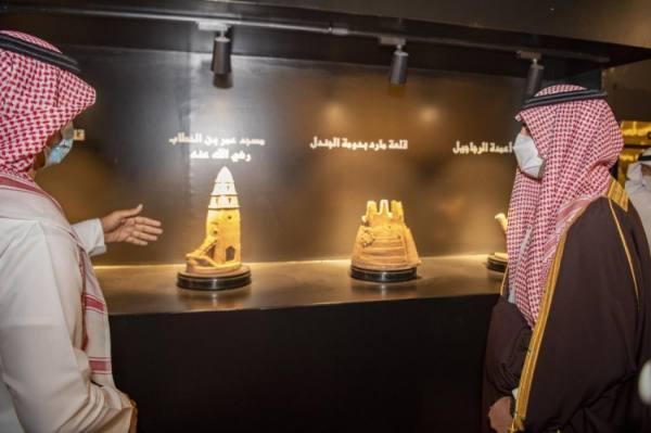 أمير الجوف يدشن متحف إمارة المنطقة