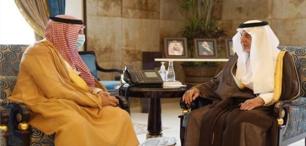 أمير مكة ونائبه يستقبلان رئيس القطاع الغربي لشركة المياه الوطنية