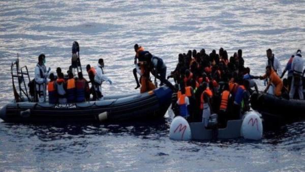 60 مفقودا و116 ناجيا قبالة السواحل الليبية بعد احتراق مركبهم