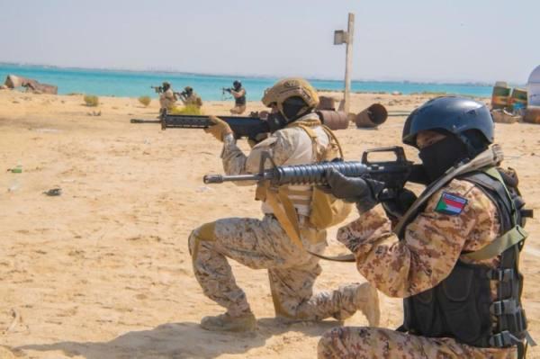 استمرار مناورات (الفلك 4) بين البحرية السعودية ونظيرتها السودانية