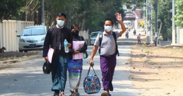 بورما.. الإفراج عن 600 متظاهر اعتقلوا خلال الاحتجاجات ضد الانقلاب
