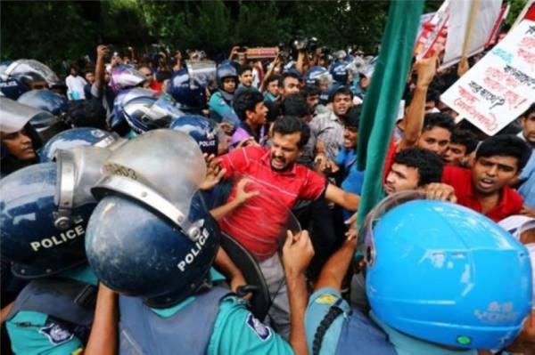 بنجلاديش: مقتل 4 احتجاجا على زيارة رئيس وزراء الهند