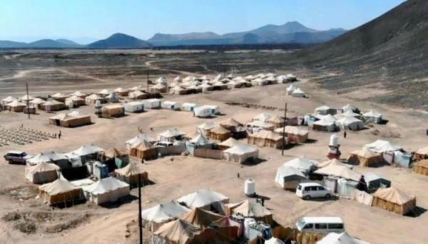 الحكومة اليمنية تدين استهداف ميليشيا الحوثي مخيمات النازحين في مأرب