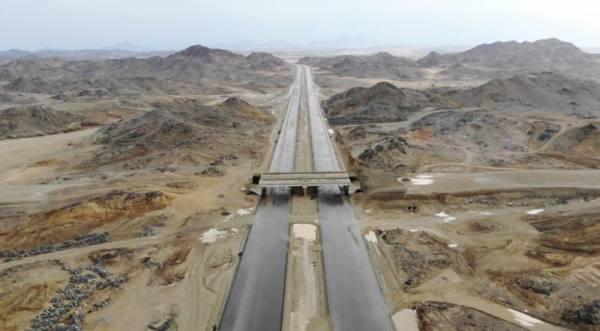 وزارة النقل تستكمل أعمال طريق جدة مكة المكرمة المباشر
