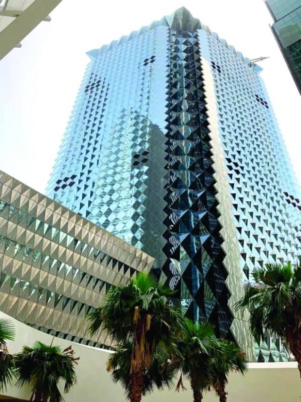 المبنى الفعلي للبنك الأهلي السعودي