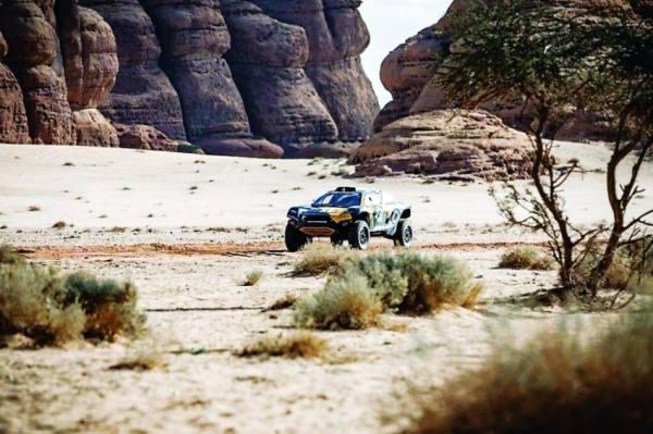 صحراء العلا تخطف أنظار العالم في انطلاق سباق «إكستريم إي»