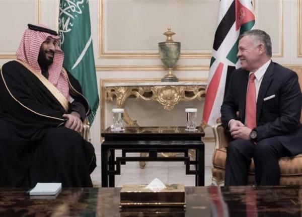 «القيادة» للملك عبدالله: معكم في كافة الإجراءات لحفظ أمن الأردن