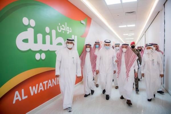 أمير القصيم يدشن عددًا من المشاريع بشركة دواجن الوطنية