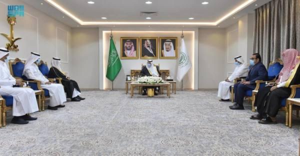 أمير نجران ينوه بحصول مستشفى الملك خالد على عضوية المنظمة العالمية لدعم الحياة