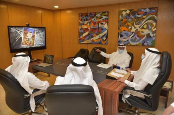 مدير تعليم جدة يُدشن معرضا فنيا افتراضيا لأعمال الطلاب الموهوبين