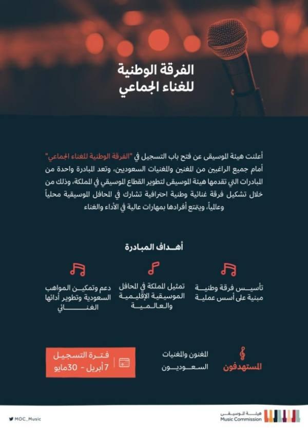هيئة الموسيقا: فتح باب التسجيل في مبادرة
