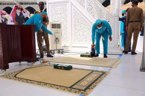 الحرمين : منظومة عمل متكاملة لصلاة آخر جمعة قبيل شهر رمضان المبارك