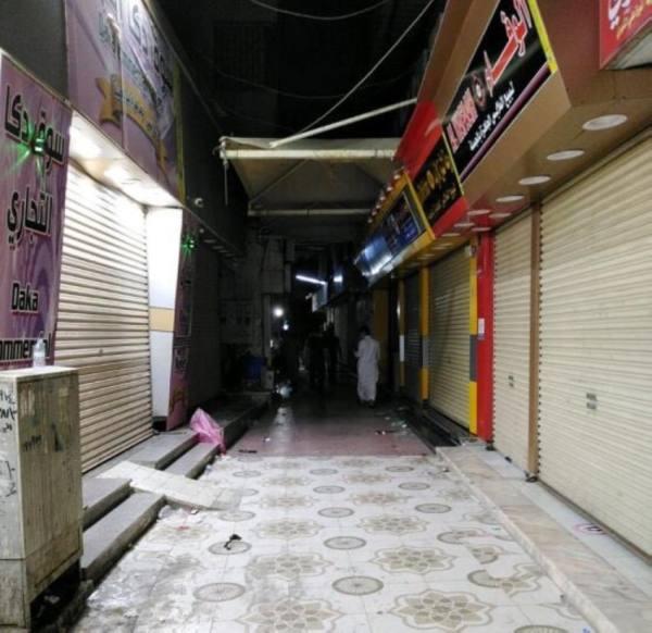 أمانة جدة تغلق سوقا شعبيا لعدم الالتزام بالإجراءات الاحترازية