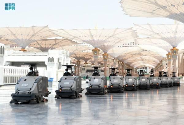 وكالة شؤون المسجد النبوي تكثّف جهودها استعدادا لشهر رمضان