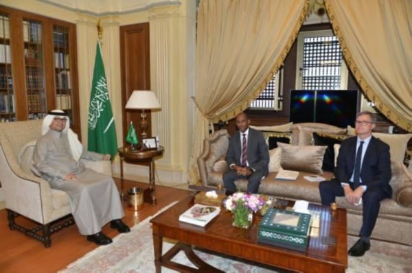 سفير المملكة لدى لبنان يبحث مع مسؤول أممي سبل الحد من