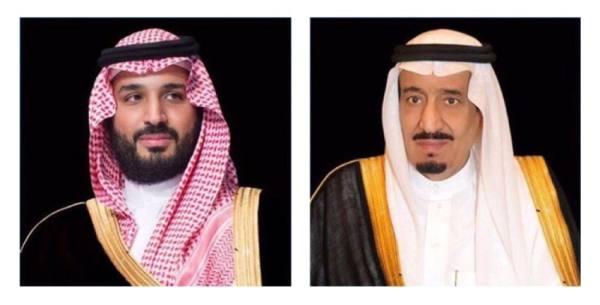 القيادة تهنئ ملك الأردن بذكرى مرور مائة عام على تأسيس بلاده