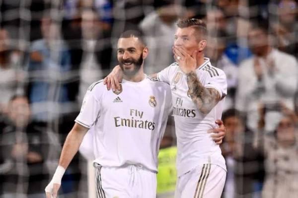 ريال مدريد يتقدم فالشوط الأول على برشلونة بهدفين دون رد
