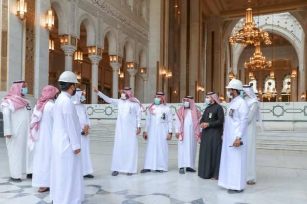 فريق ميداني لمتابعة تقديم الخدمات بالمسجد الحرام