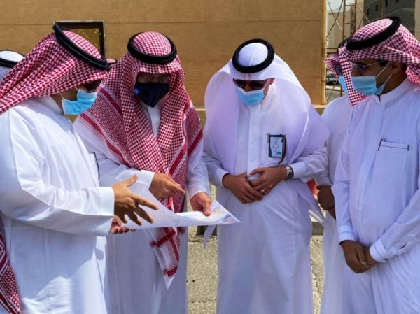 القويحص يتفقَّد مشروع تصريف الأمطار بالشميسي وممشى الإسكان