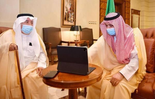 الأمير مشعل بن ماجد يدشن حملة