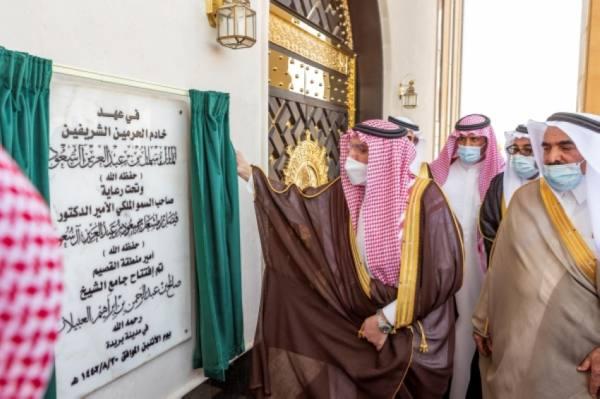 أمير القصيم يشدد على أهمية أنسنة المساجد لتوائم ذوي الاحتياجات الخاصة