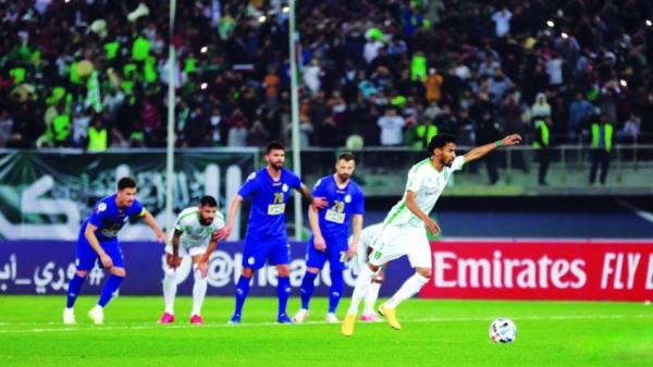من مباراة الاهلي واستقلال طهران في النسخة الماضية من البطولة