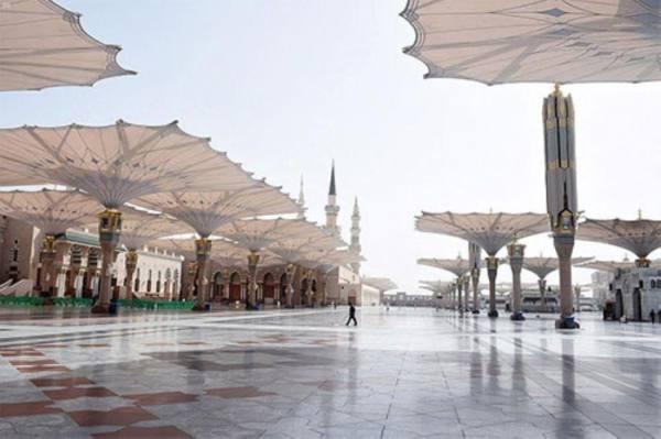 خدمة إلكترونية للطاقة الاستيعابية للمسجد النبوي