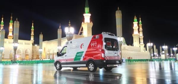 الهلال الأحمر بالمدينة يبدأ بتنفيذ برنامج موسم رمضان