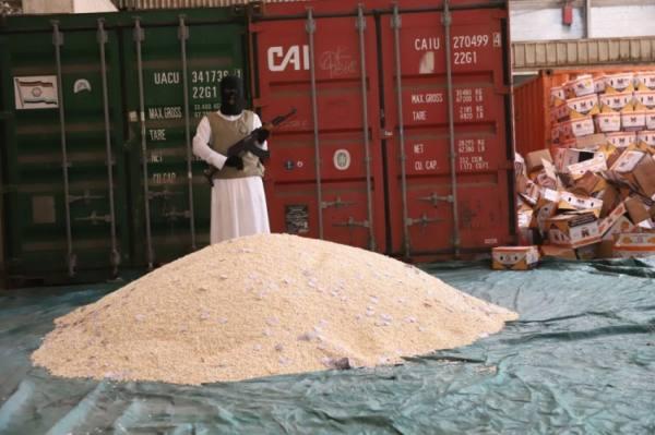 إحباط تهريب 5 ملايين و200 ألف قرص إمفيتامين مخدر داخل شحنة برتقال