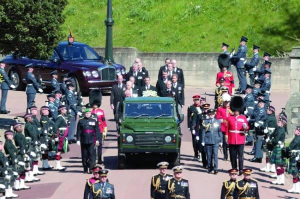 تشييع جثمان الأمير فيليب بحضور الملكة اليزابيث